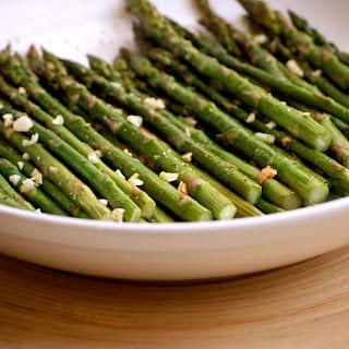 Garlic Oven Asparagus