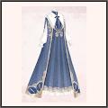 蒼のロングスカート
