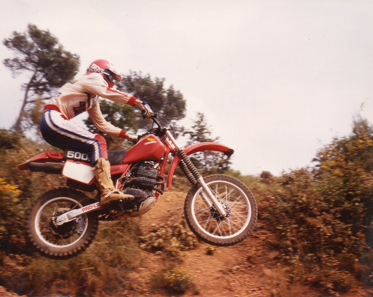 Me in 1982 on a XR500R 1981
