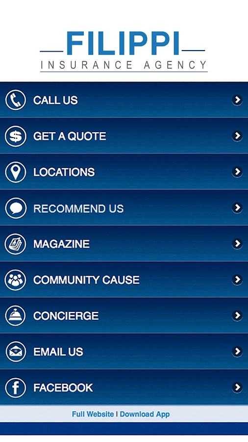 Filippi Insurance Agency- screenshot