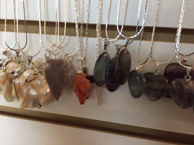 Crystal and Pendant Necklaces