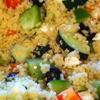 Party-Size Greek Couscous Salad