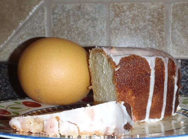Pink Grapefruit Cake Recipe
