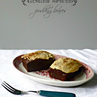 Ginger  Spiced  Pudding  Loaves