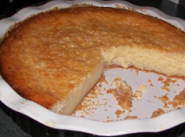 White Potato Pie Recipe