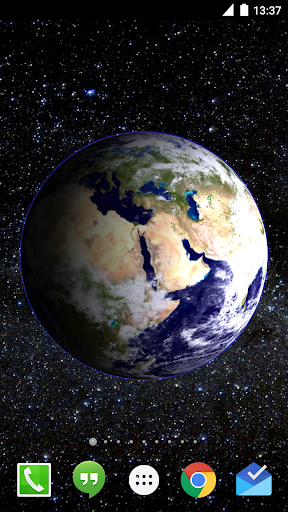 Mars Live Wallpaper screenshot 1