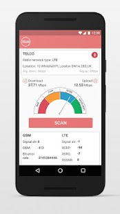 TelcoQ Speed Test- screenshot thumbnail