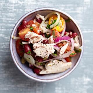 Bean, Tuna & Veggie Salad