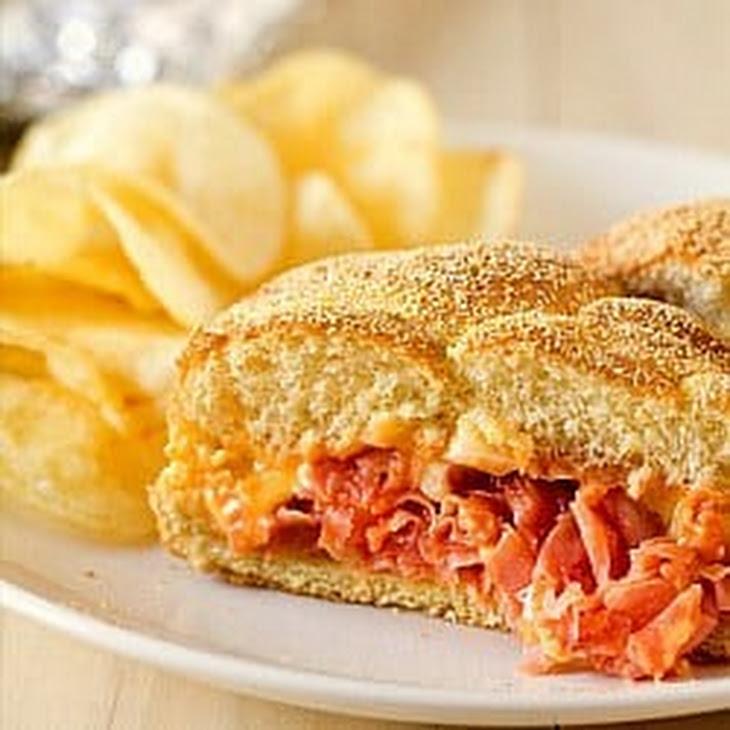 Chipped Ham BBQ Sandwiches Recipe