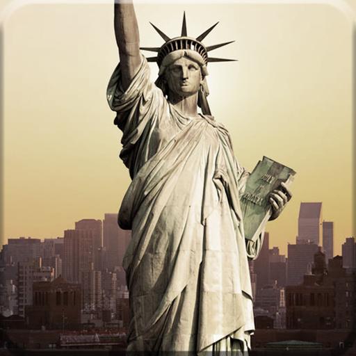 自由女神像 - 闪电锁屏主题 個人化 App LOGO-APP試玩