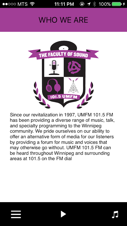 UMFM- screenshot