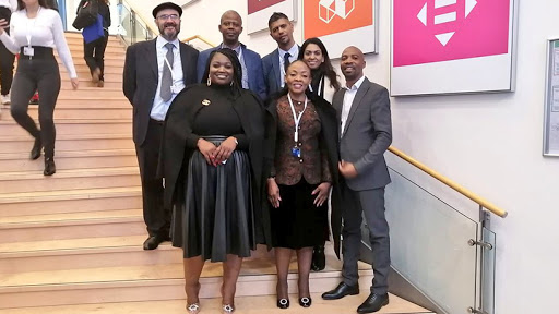 Deputy minister Pinky Kekana and the South African delegation attending the Internet Governance Forum in Germany. (Source: Twitter)