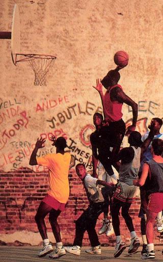 ストリートバスケットボール