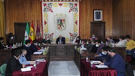 Pleno celebrado en Huércal-Overa.