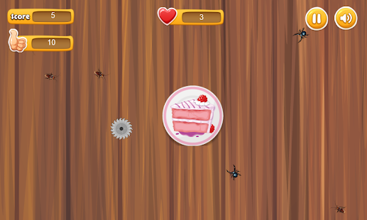 Defend Cake - from bugs - náhled