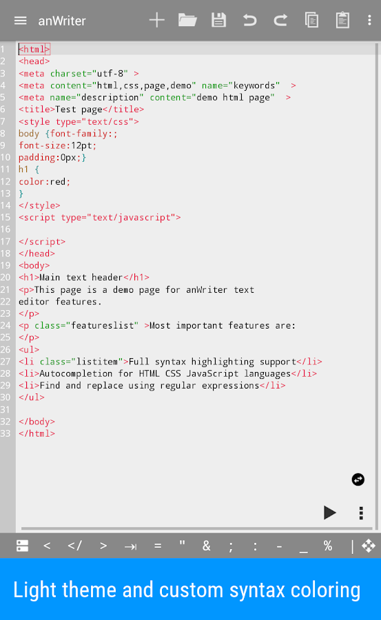 anWriter text editor APK Cracked Free Download | Cracked Android