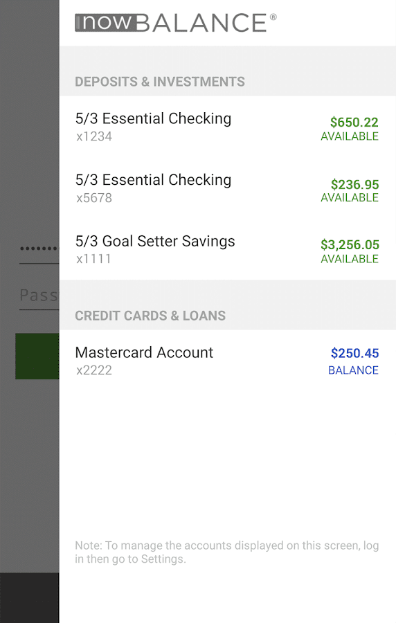 Fifth Third Mobile Banking- screenshot