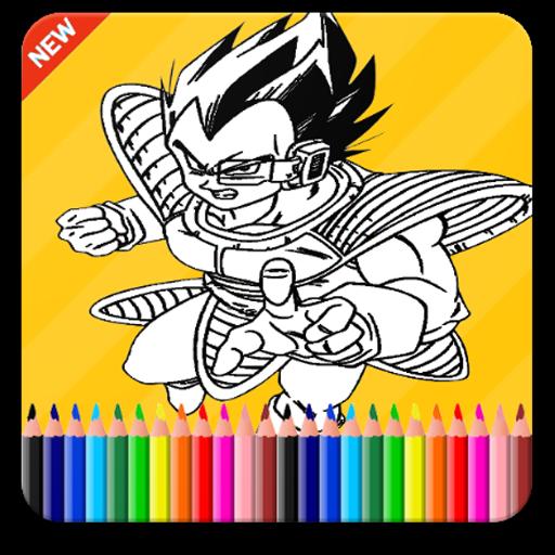 ColoringBook-Saiyan Fans
