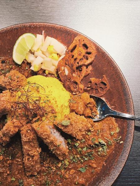 大阪香料咖哩Osaka Spice Curry|日本人開的日系小店,雙醬咖哩一次滿足