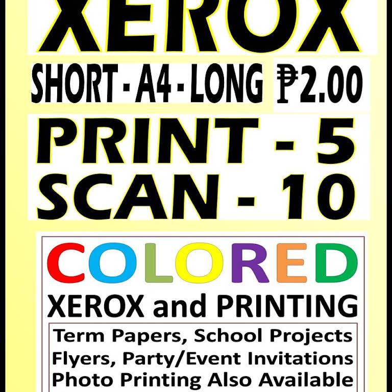 Print Scan Xerox Photo Reprinting Tube Ice Simoun Street Corner
