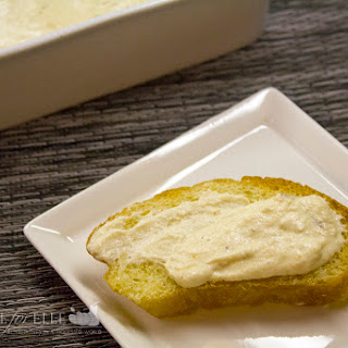 Cream Cheese Dip with Roasted Garlic.