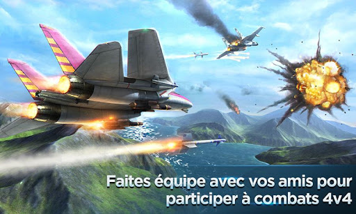Air Combat OL: Team Match APK MOD – Monnaie Illimitées (Astuce) screenshots hack proof 2