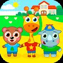 Kindergarten : animals icon