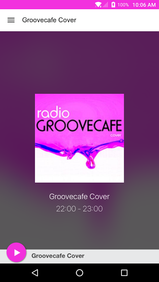 Groovecafe Cover- screenshot