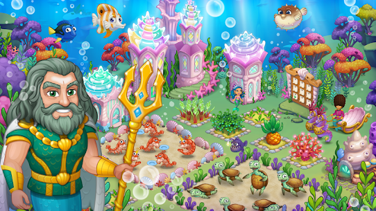Aquarium Farm Mod Apk 1.32 (Unlimited Money + Free Shopping) 5