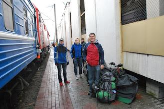 Photo: збор на вакзале ў Менску
