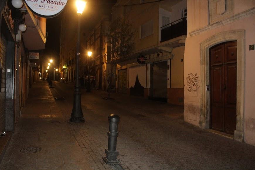 El pub Vértice en la calle Eduardo Pérez.