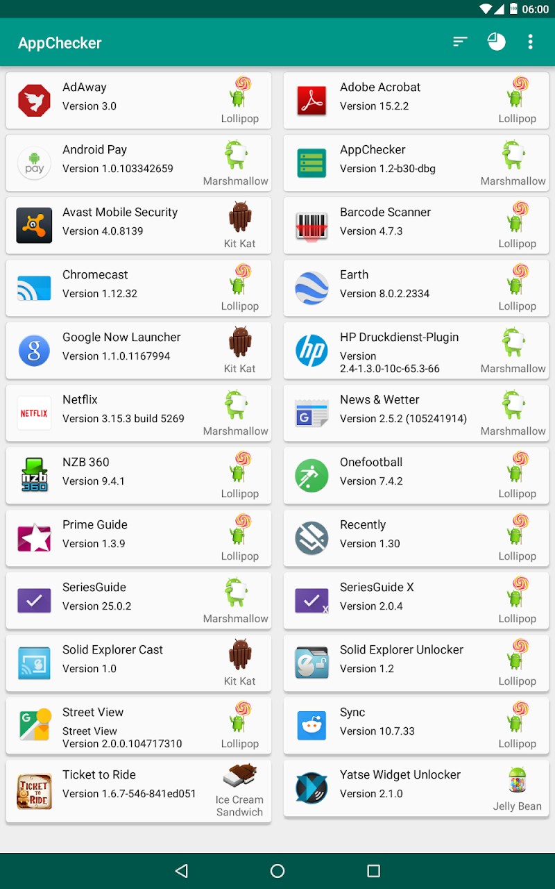 AppChecker - List APIs of Apps Screenshot 5