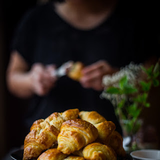 How To Make Good Croissant At Home (8 Large Croissants).