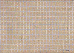 Photo: Royale 07 - SQUARE CO-ORDINATE – SILVER BLUE (100% Polyester)