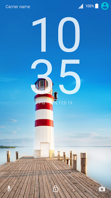 Lighthouse Xperia Theme - screenshot