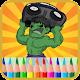 Coloração De Casco Verde (game)