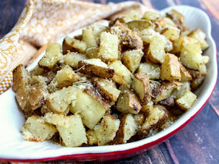 Oven Roasted Potatoes With Olive Oil & Rosemary Recipe
