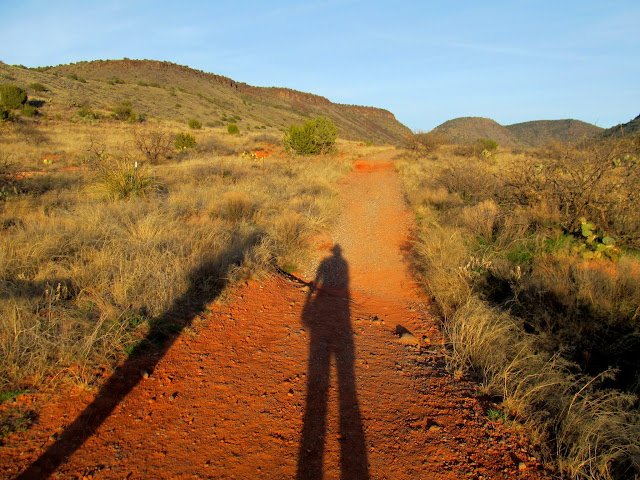 Long shadows on the Bell Trail