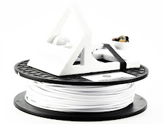 MadeSolid White PET+ Filament - 3.00mm (1lb)