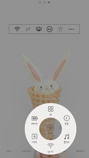 Bunnycone Dodol launcher theme|玩個人化App免費|玩APPs