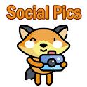 Social Pics - Red Social para Compartir Imágenes icon