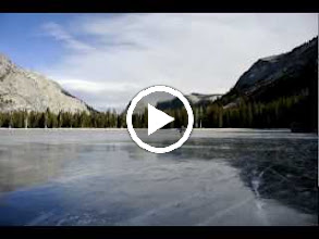 Video: I got very slightly better as the day progressed. The ice is especially shiny and smooth here.