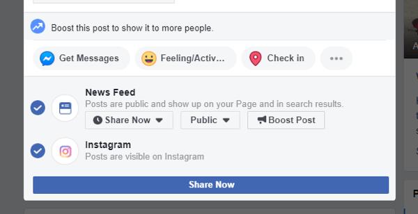 posting on facebook in Kenya