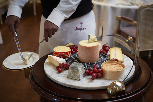 Oceania-Jacques-cheese.jpg - Enjoy a perfect cheese course at Jacques restaurant or Jacques Bistro on Oceania Cruises.