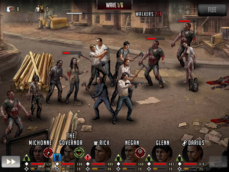 Walking Dead: Road to Survival – Capture d'écran