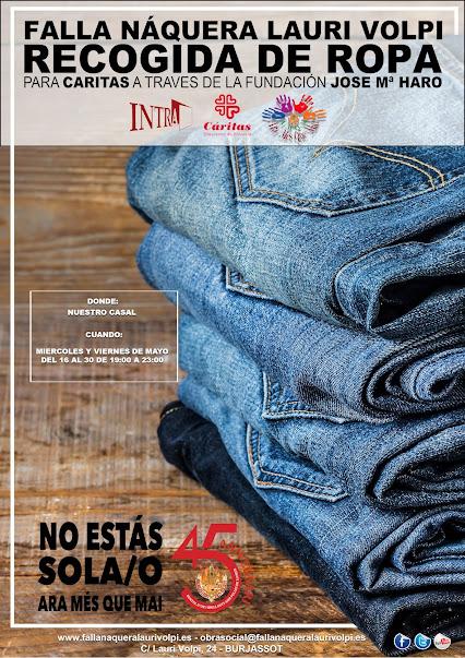Campaña de recogida de ropa. Naquera - Lauri Volpi