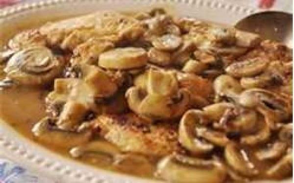 Olive Garden's Chicken Marsala Recipe
