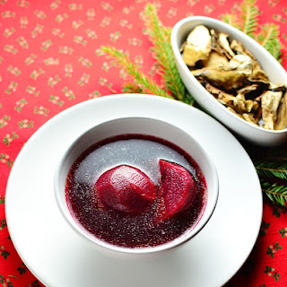Polish Christmas Eve Borscht Recipe