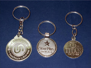 Photo: Stamping Keychains