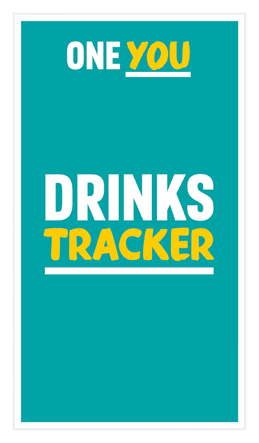 One You Drinks Tracker- screenshot
